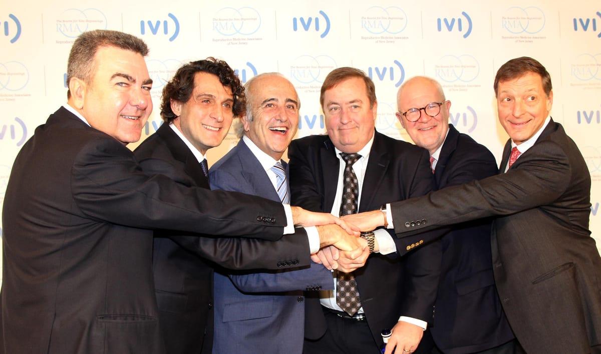 IVI kommt in die USA. Im Zusammenschluss mit RMANJ entsteht die weltweit grösste Gruppe für unterstützte Reproduktion