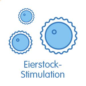 Eierstock-Stimulation