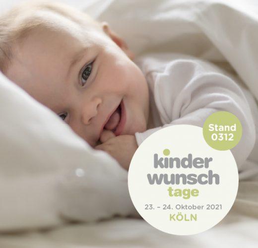 IVI nimmt an den Kinderwunsch Tagen Köln teil, vom 23. - 24. Oktober 2021